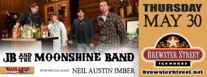 JB & the Moonshine Band w/Neil Austin Imber