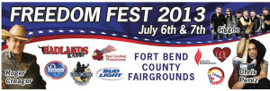 BL Freedom Fest Billboard