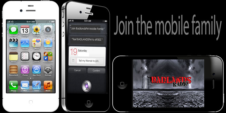 Join The Badlanders Mobile Family TODAY