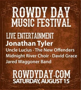 Rowdy day 2015 poster